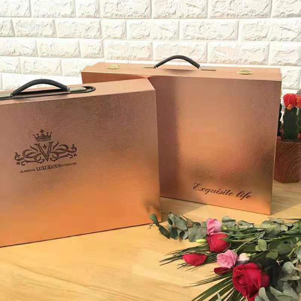 礼品四件套箱式包装