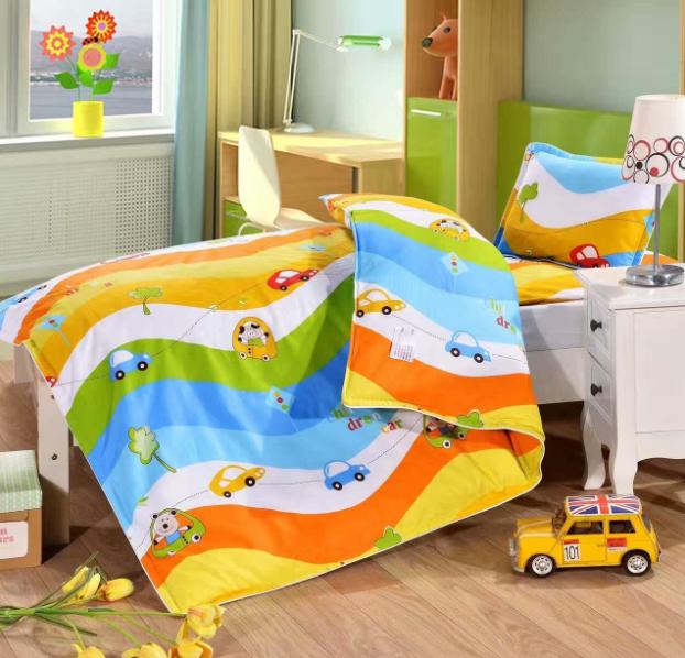 儿童床上用品如何保养-我有特别的洗涤方式[寝夜思家纺]