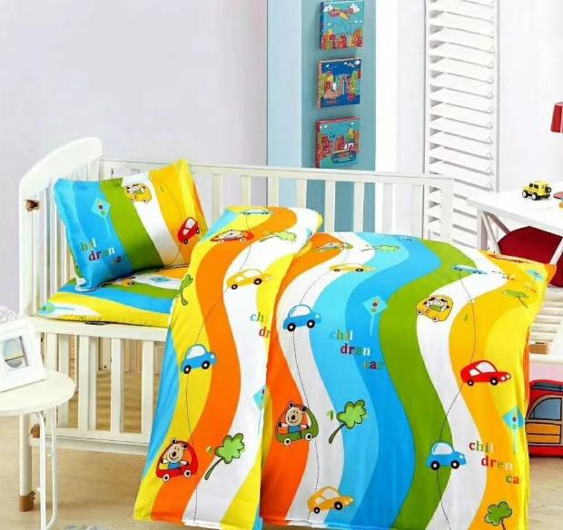 浅色纯棉的儿童床品最舒适-更适合孩子成长的床品[寝夜思家纺]