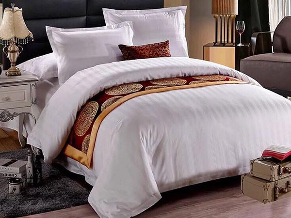 寝夜思床上用品为您浅析酒店床上用品批发定制