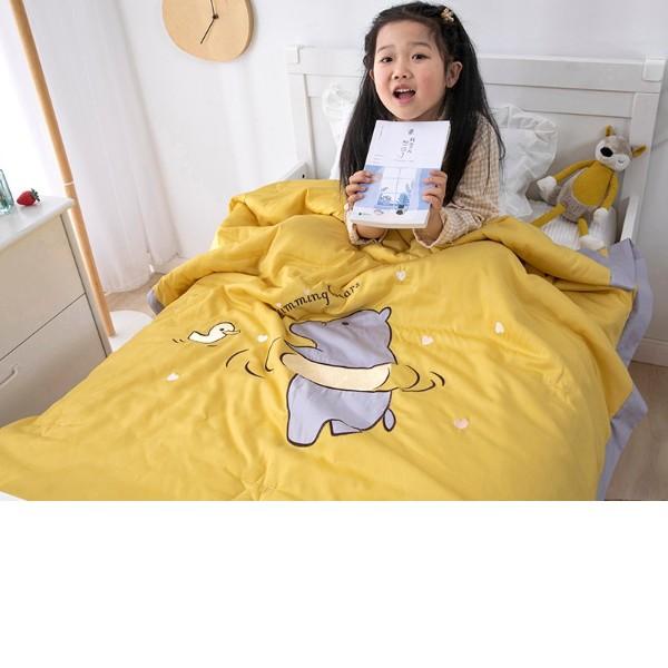 儿童床上用品脏了怎么办-我有独特的洗涤方式[寝夜思家纺]