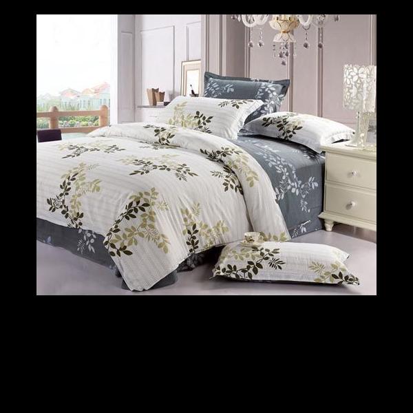 享受舒服和美感一体的床品-提花四件套[寝夜思家纺]